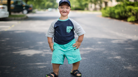 This Boy's Dwarfism Makes Him One In A Million