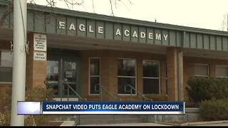 Eagle Academy locked down briefly Friday - Video