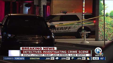 Early-morning crime scene investigated in Lake Worth
