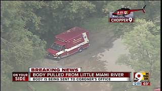 Body pulled from Little Miami River - Video
