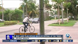 Delray Beach bike plan could involve cutting down 150 trees