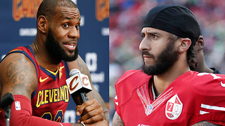 LeBron James Explains Why He Thinks Colin Kaepernick Still Isn't in the NFL - Video