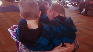 The Sweetest Soldier Homecoming: Twin Boy's Welcome Mom Home