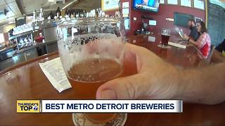 Thursday's Top 7: Best breweries around metro Detroit