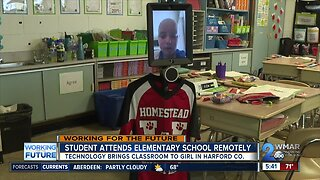Technology brings classroom to 3rd grader recovering from cancer