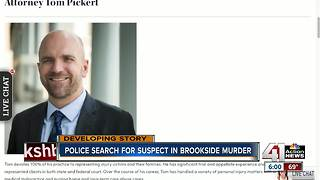 Kansas City attorney shot, killed in front of his Brookside home - Video