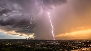 Perfect Storm: America's Extreme Weather Captured In Stunning Timelapse