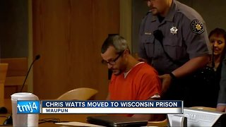Colorado killer Chris Watts reportedly moved to Wisconsin prison