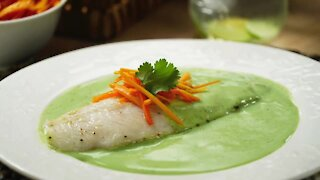 Fish in Cilantro Sauce