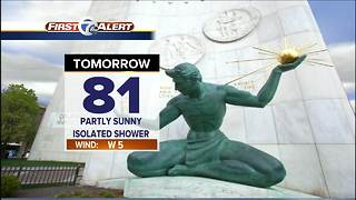 More pleasant weather - Video