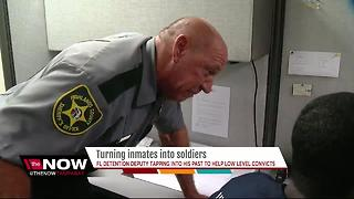 Detention Deputy helping low level offenders - Video