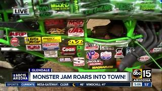 Monster Jam roars into town - Video