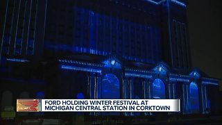 Ford holding Winter Festival at Michigan Central Station in Corktown