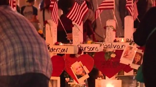 Man who created crosses after 1 October to return to Las Vegas