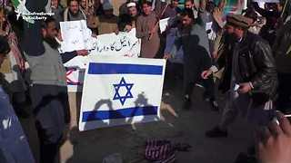 Israeli and US Flags Burned in Pakistan Protests Over Trump Jerusalem Decision - Video