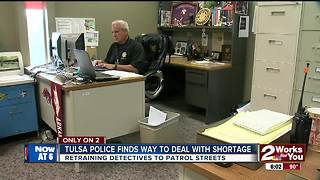 Tulsa Police finds way to deal with shortage - Video