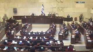 Protesting Israeli Arab Lawmakers Removed From Knesset Ahead of Pence Speech - Video