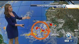 Keeping an eye on a tropical wave - Video