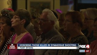 Southwest Florida religious leaders honor Pittsburgh shooting victims
