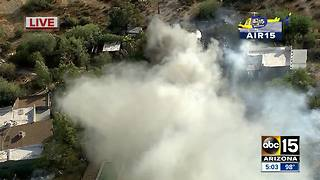 BREAKING: Fire breaks out in Cave Creek - Video