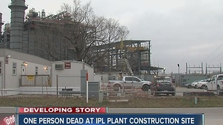Indianapolis man killed in construction accident at IPL construction site - Video