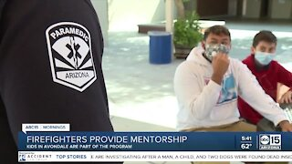 Avondale MS teams up with firefighters for mentorship