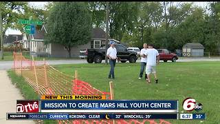 Mission to create Mars Hill Youth Center - Video