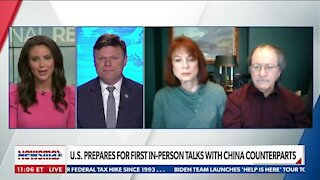 U.S. PREPARES FOR FIRST IN-PERSON TALKS WITH CHINA COUNTERPARTS