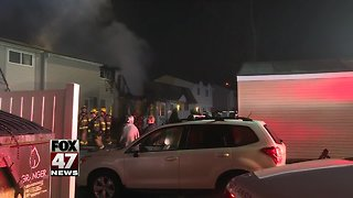 Several people displaced after apartment fire in East Lansing