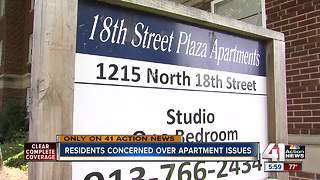 Gas service restored to KCK apartments - Video