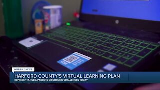 Harford County's virtual learning plan