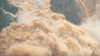 Drone Footage Captures Barron Falls in Full Flood After Record Rainfall - Video