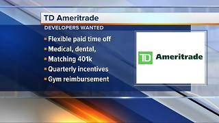 TD Ameritrade hiring senior Java, Android and iOS developers - Video