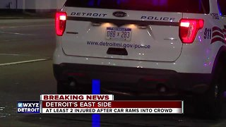 Hit-and-run investigation on Detroit's east side - Video