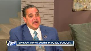 Amidst 'distractions' Buffalo Schools superintendent highlights positives - Video