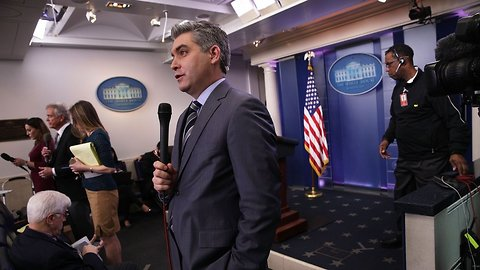 WH Suspends CNN Reporter's Press Credentials After Heated Exchange