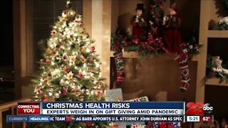 Christmas Health Risks: Experts weigh in on gift giving amid pandemic