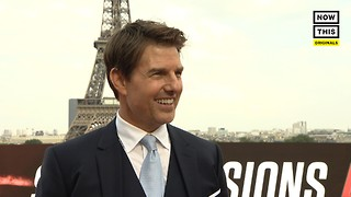 Tom Cruise Talks 'Mission: Impossible' And Incredible Stunt Work - Video