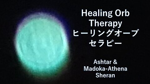 Healing Orb Color Therapy.