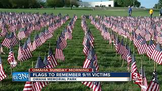 Omaha Sunday Morning: Family copes with death, flags at Memorial Park, NETF Returns - Video