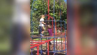 Cute Kids Pretending To Be Firefighters - Video