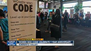 'Women Who Code' marks anniversary - Video