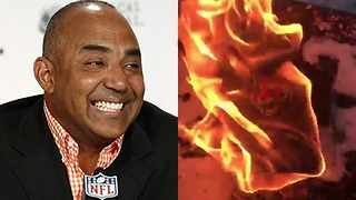 Bengals Fans RIOT Over Marvin Lewis' Contract Extension - Video