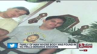 Family of man whose body was found in supermarket demands answers