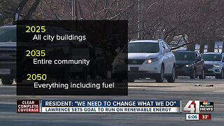 Lawrence plans to adopt 100% renewable energy