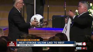 Riverdale football player remembered - Video
