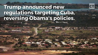 President Trump Cracks Down on Cuba - Video