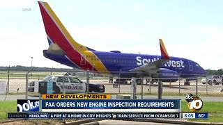 FAA new engine ordered inspections - Video