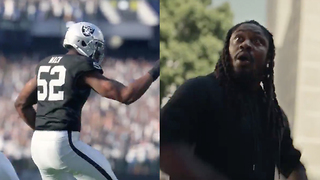 Marshawn Lynch Gets FAKED OUT by Madden 18 Graphics in Hilarious Commercial - Video