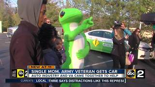 Mom gets news car - Video